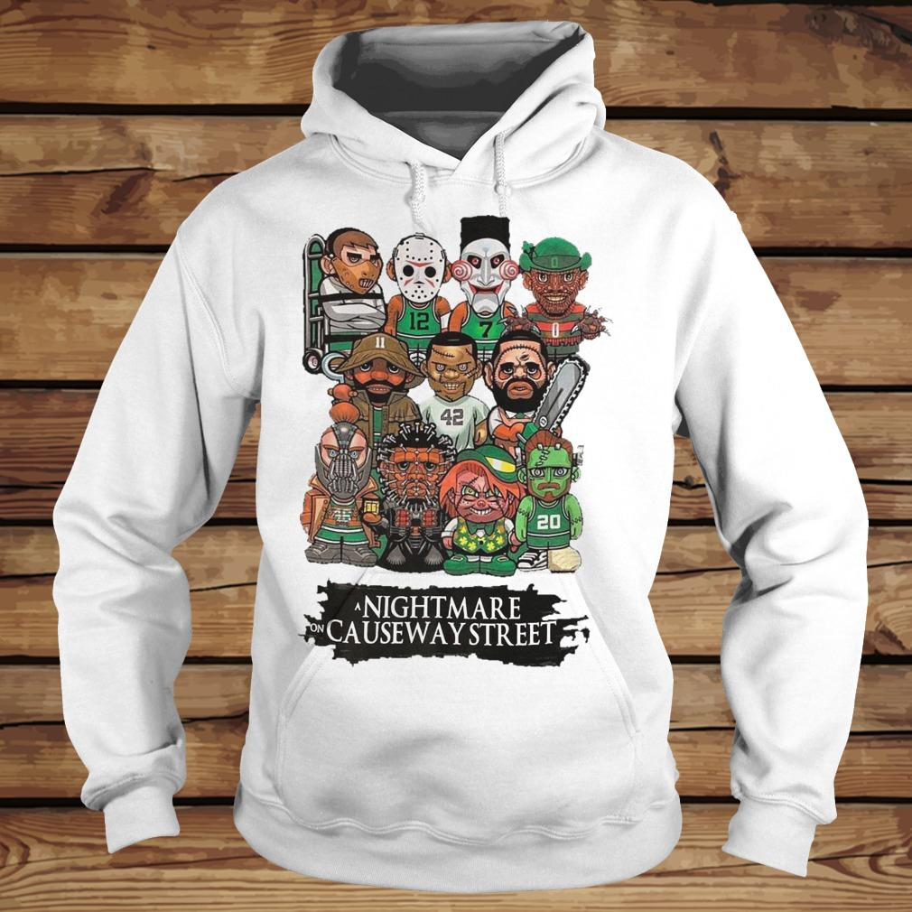 Horror Characters Nightmare On Causeway Street shirt Hoodie