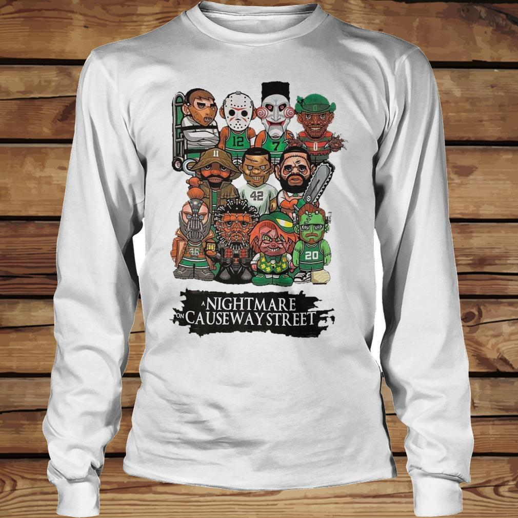 Horror Characters Nightmare On Causeway Street shirt Longsleeve Tee Unisex