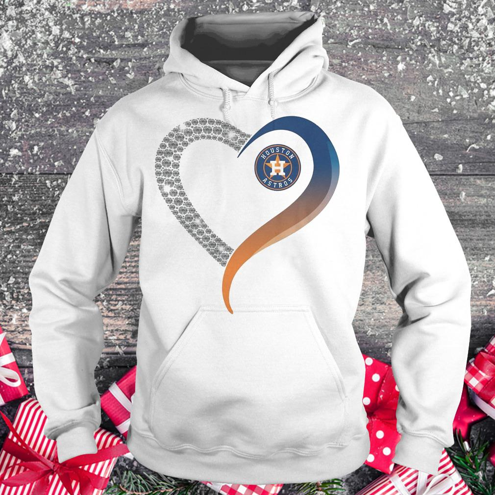 Houston Astros heart blink shirt Hoodie