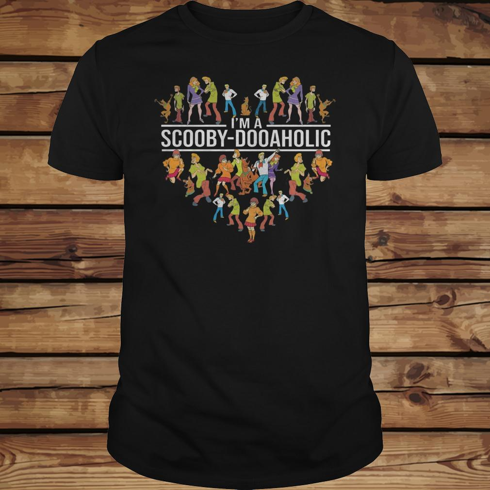 I'm A Scooby Doo Aholic shirt Classic Guys / Unisex Tee