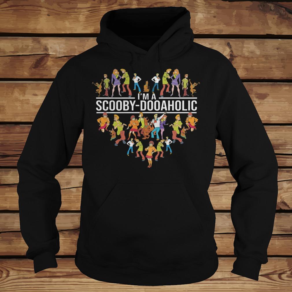 I'm A Scooby Doo Aholic shirt Hoodie