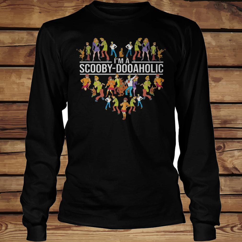 I'm A Scooby Doo Aholic shirt Longsleeve Tee Unisex