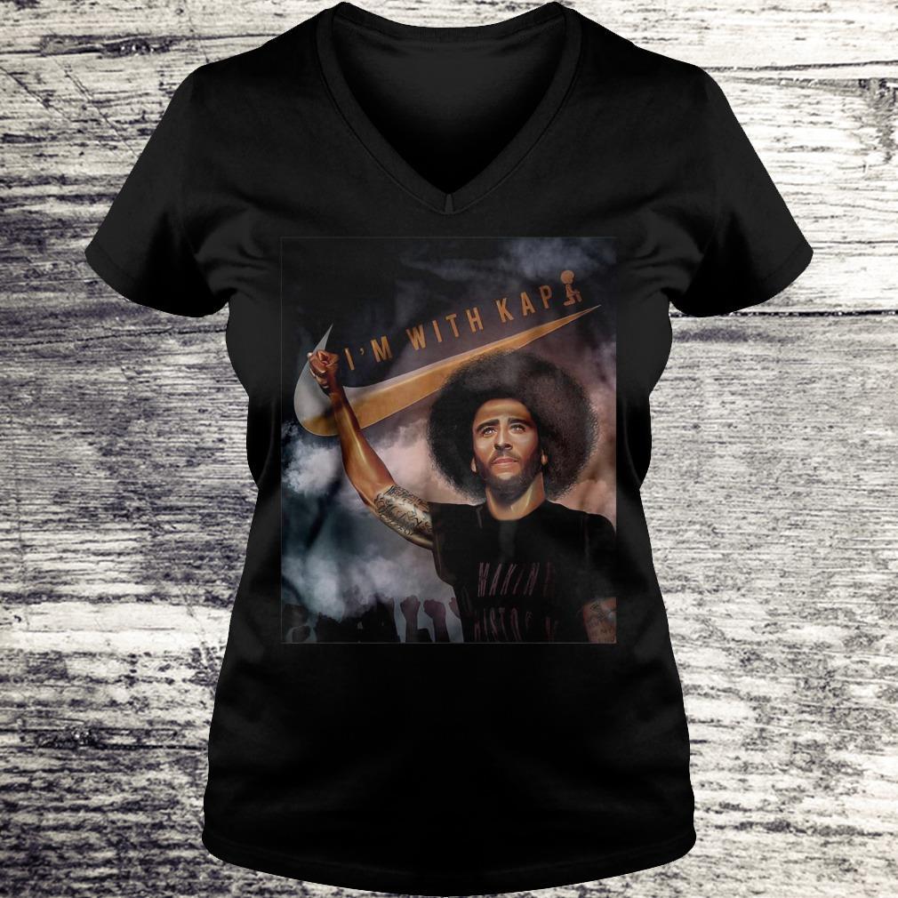 I'm With Kap Colin Kaepernick Shirt Ladies V-Neck