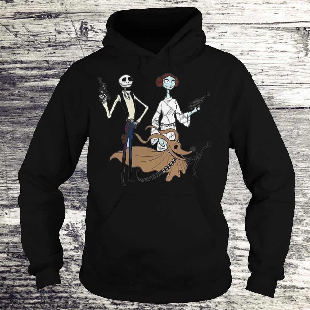 Jack Skellington, Sally And Zero As Star Wars Shirt Hoodie