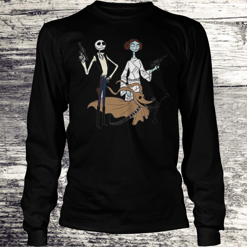 Jack Skellington, Sally And Zero As Star Wars Shirt Longsleeve Tee Unisex
