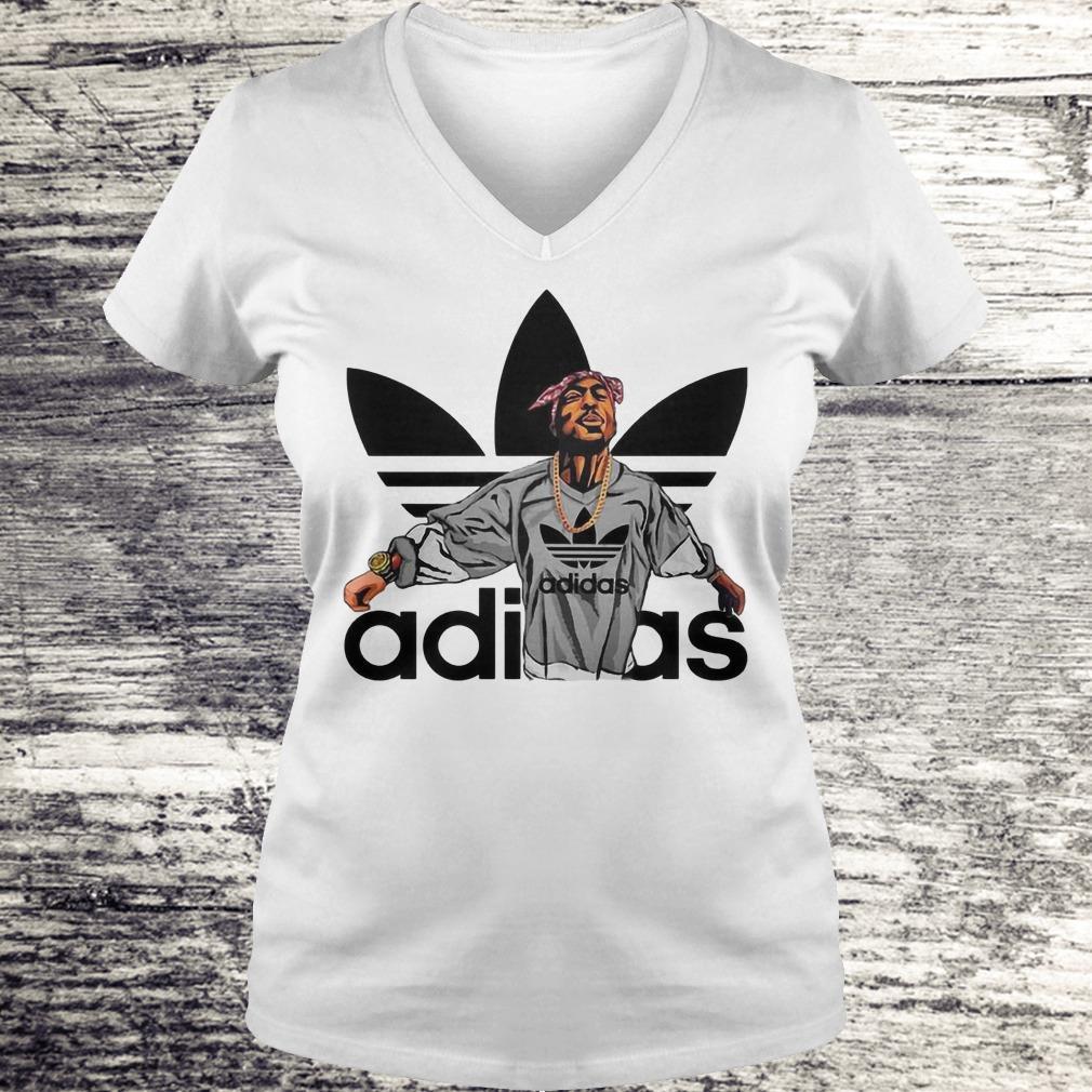 Juelz Santana Adidas Shirt Ladies V-Neck