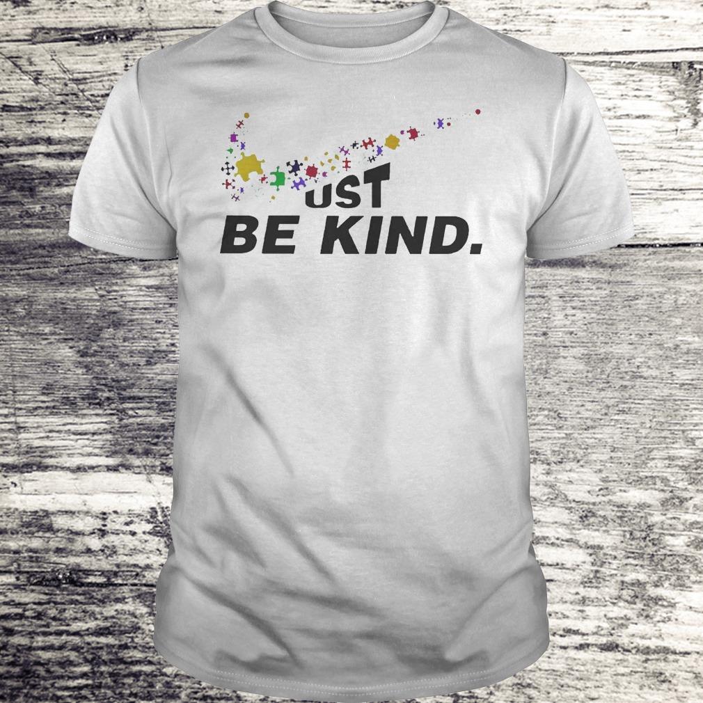 Just Be Kind - Autism Awareness Shirt Classic Guys / Unisex Tee