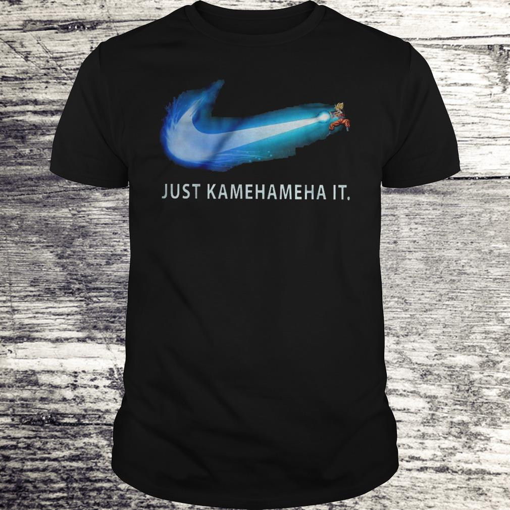 Just Kamehameha It Shirt Classic Guys / Unisex Tee