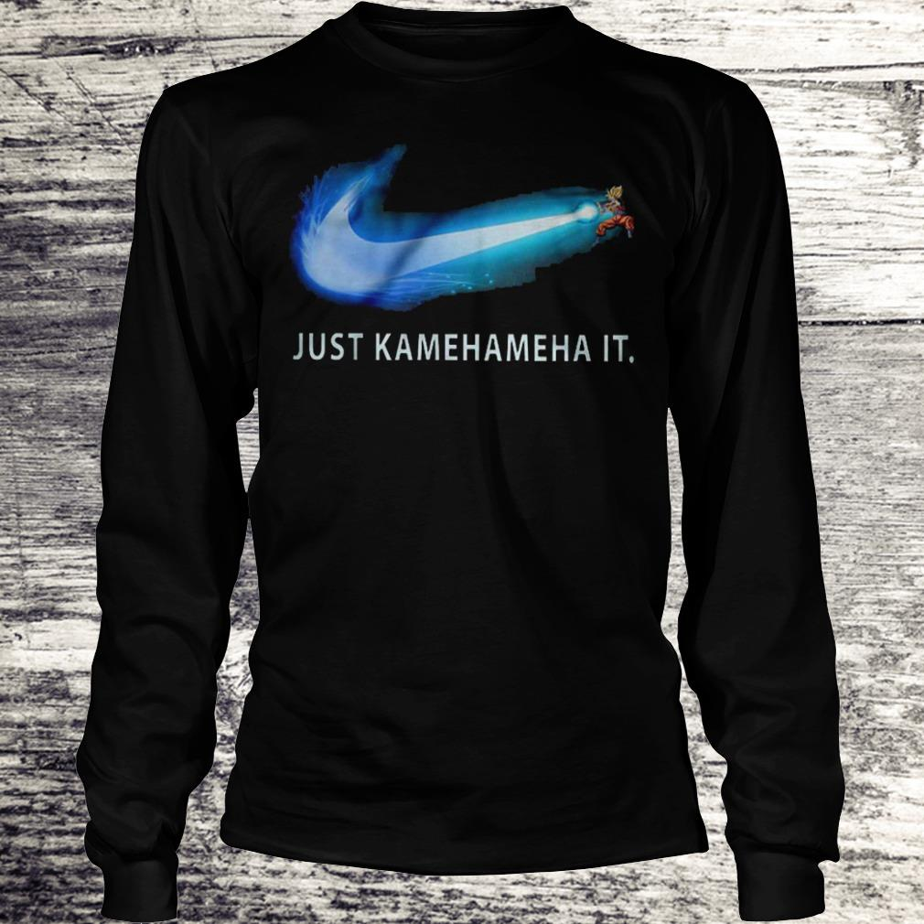 Just Kamehameha It Shirt Longsleeve Tee Unisex