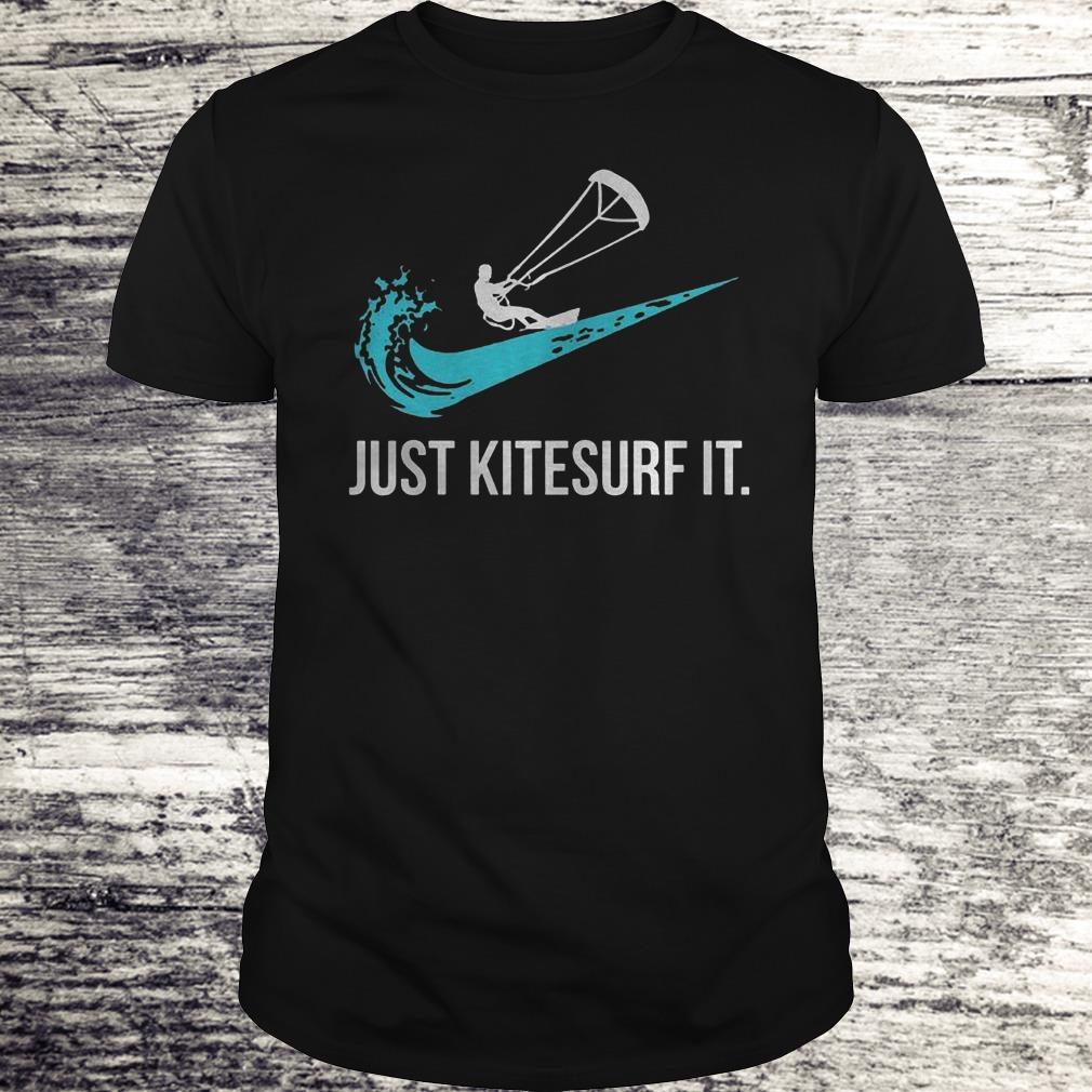 Just Kitesurf It Shirt Classic Guys / Unisex Tee