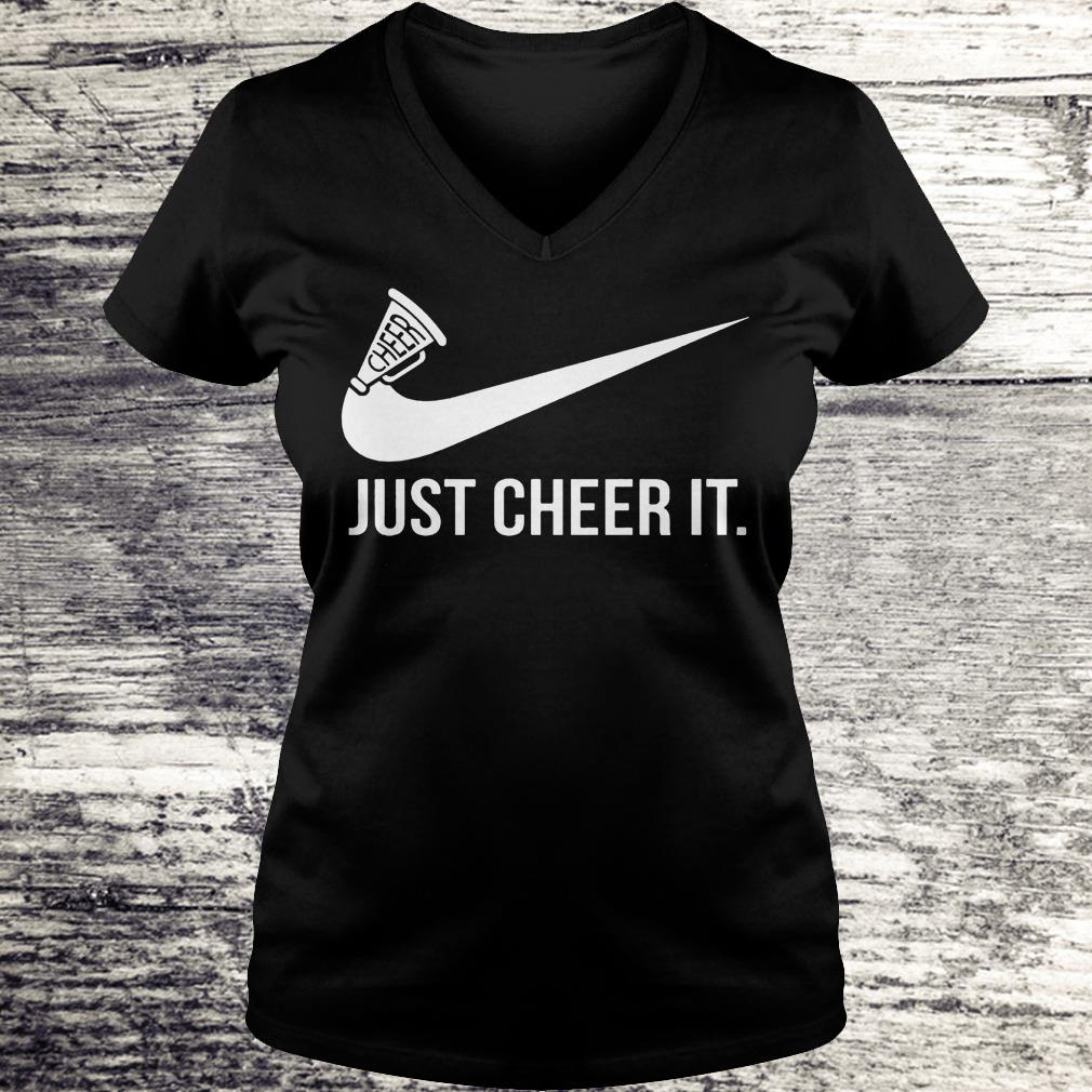 Just cheer it Nike Shirt Ladies V-Neck