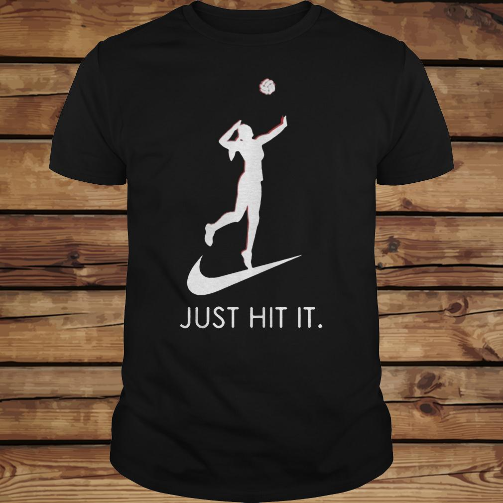 Just hit it Volleyball shirt Classic Guys / Unisex Tee