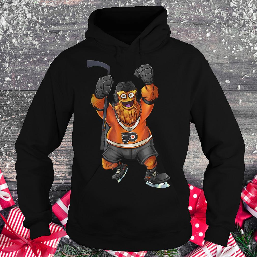 Keep it Gritty Philadelphia Flyers hockey mascot shirt Hoodie