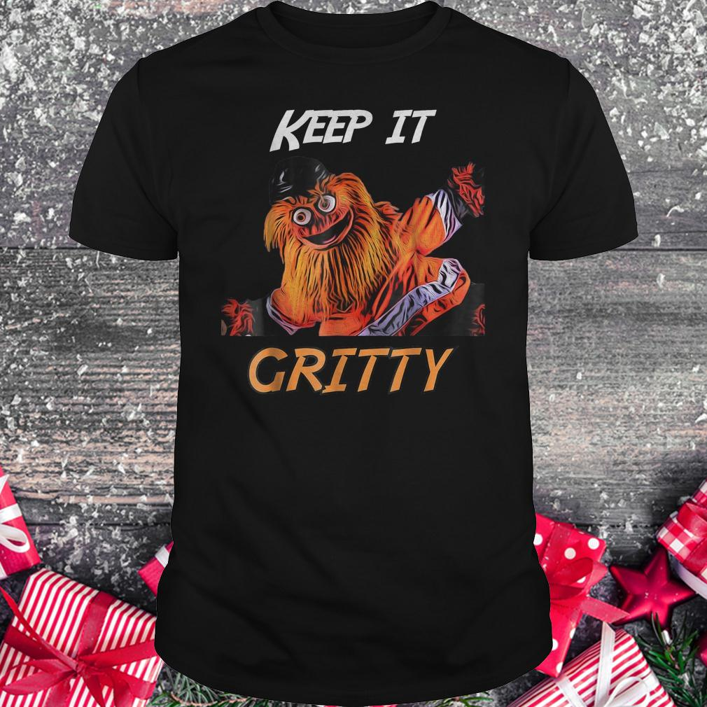 Keep it Gritty Philly Flyers mascot shirt