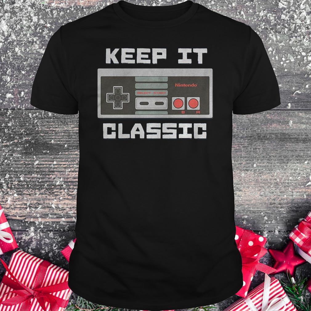 Keep it classic controller shirt