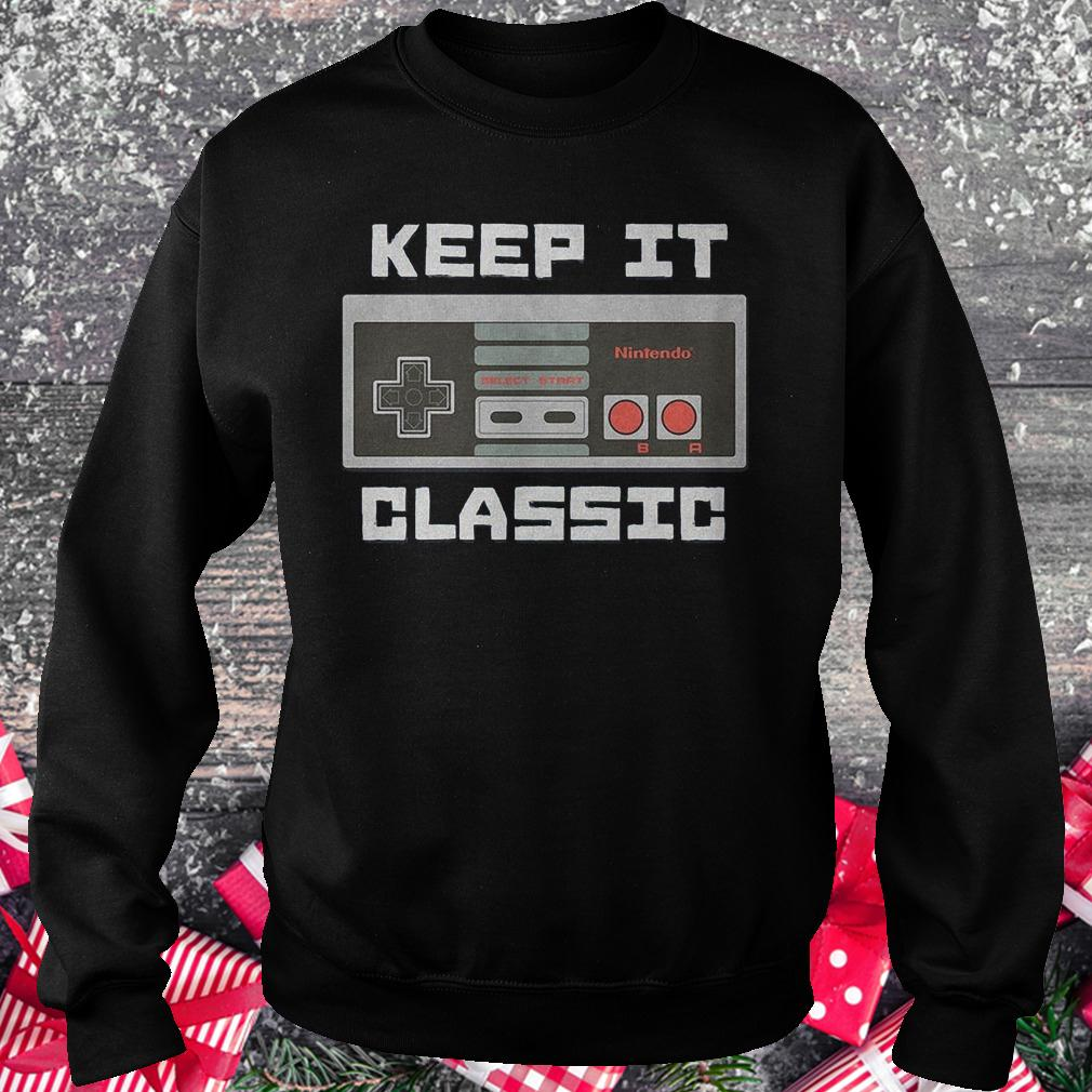 Keep it classic controller shirt Sweatshirt Unisex