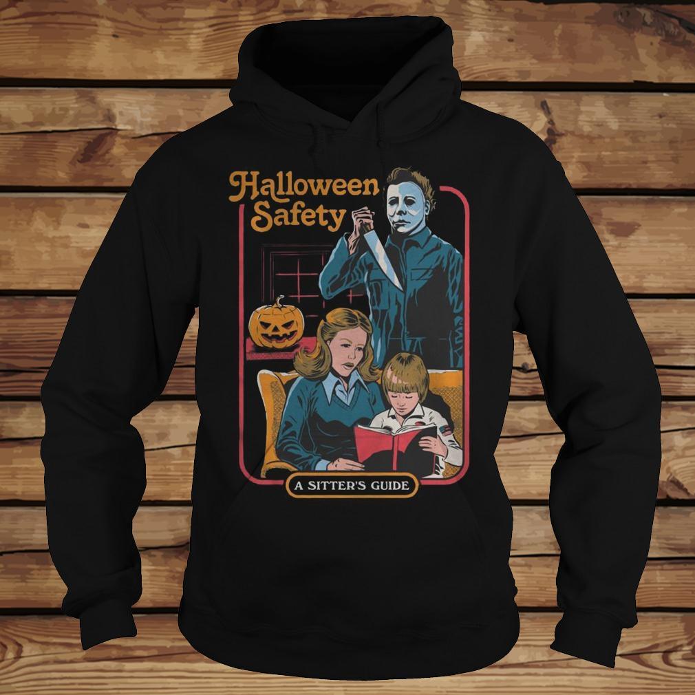 f55efc4a Michael Myers Halloween Safety A Sister's Guide T-Shirt - TeeNavi shirt  Hoodie