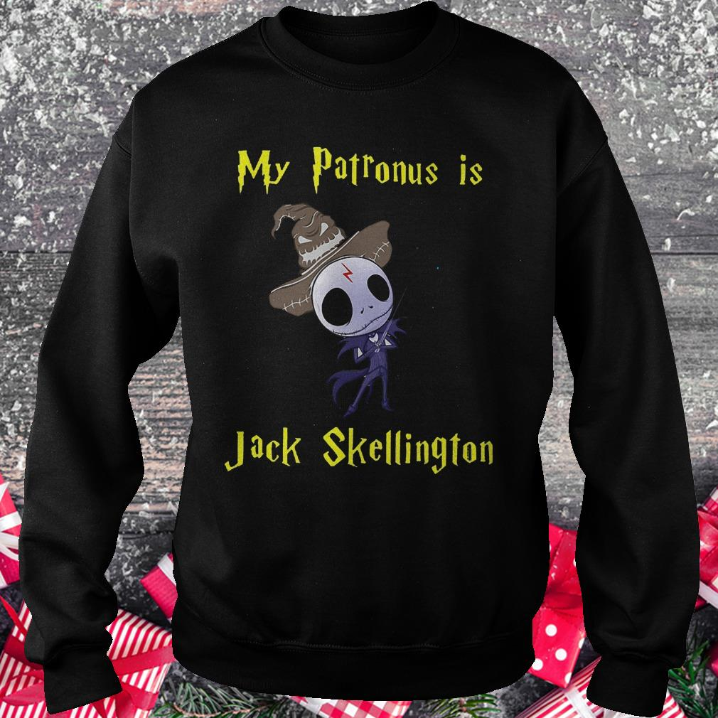 My patronus is Jack Skellington shirt Sweatshirt Unisex