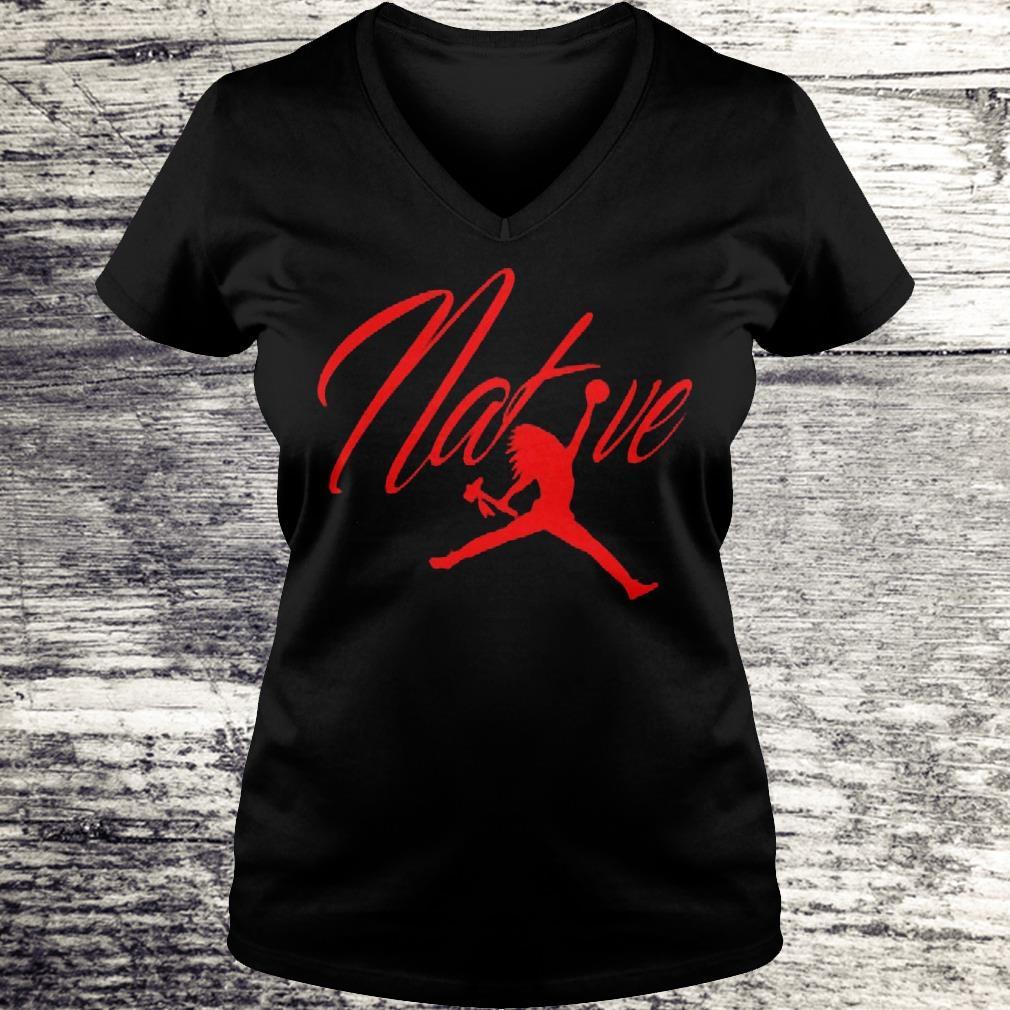 Native Air Flight Shirt Ladies V-Neck