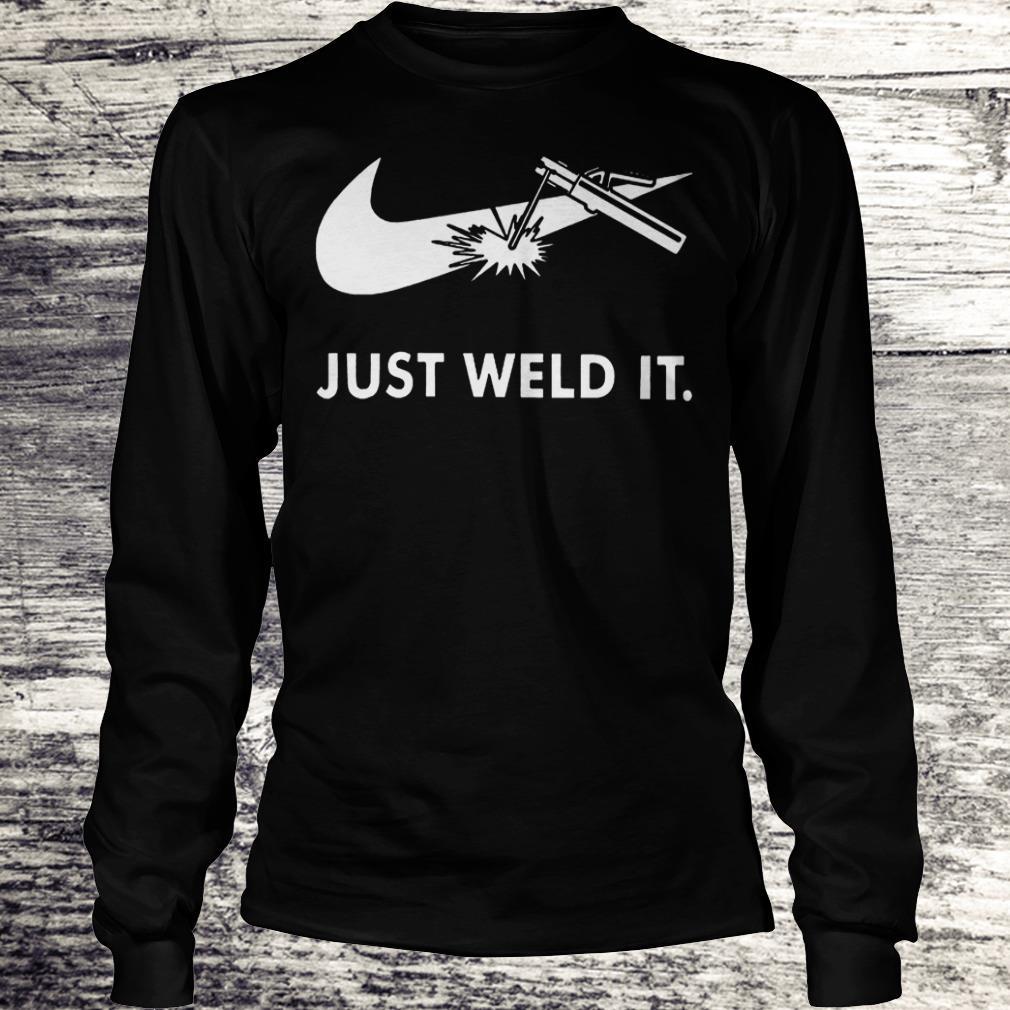 Nike Just weld it Shirt Longsleeve Tee Unisex
