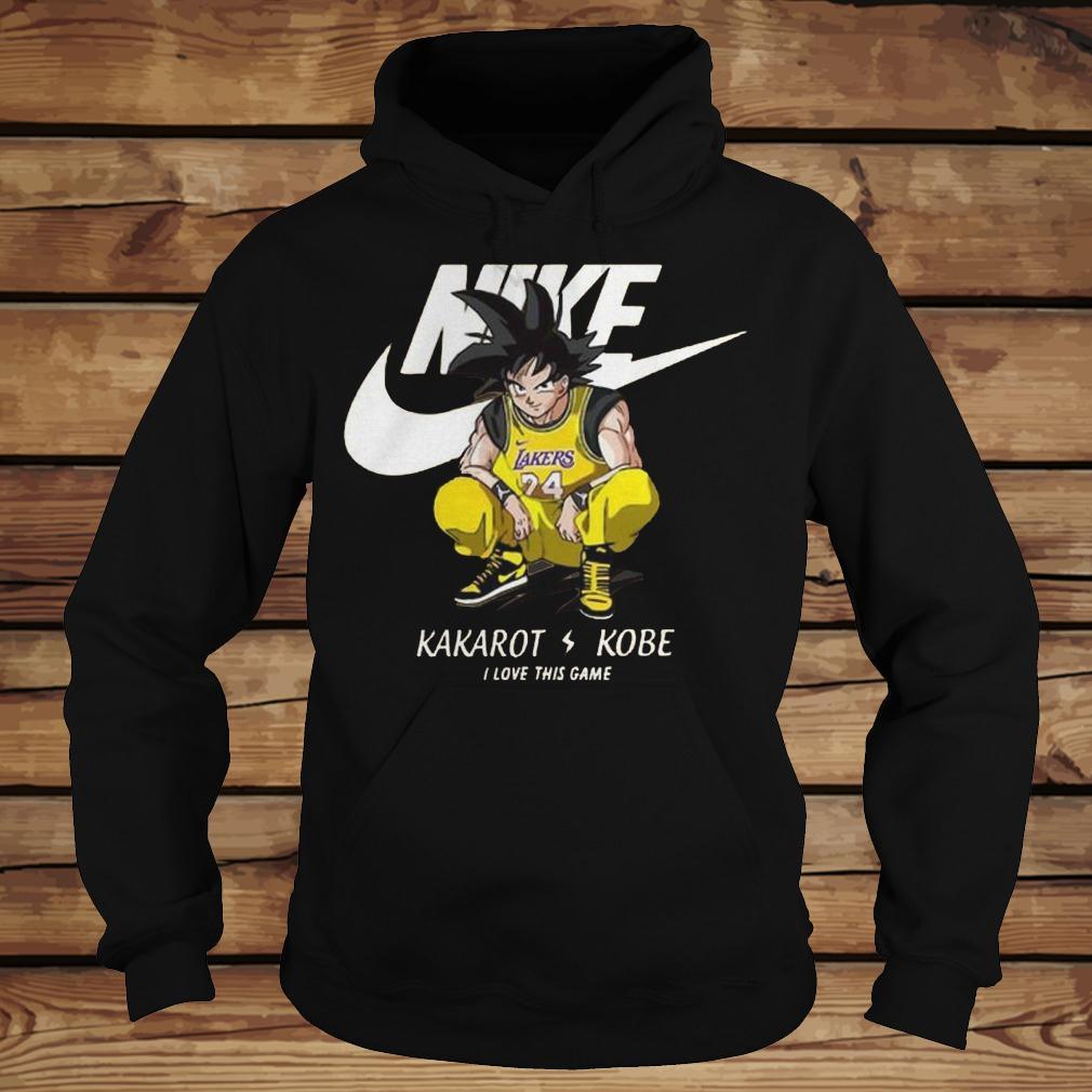 Nike Kakarot Kobe I Love This Game shirt Hoodie
