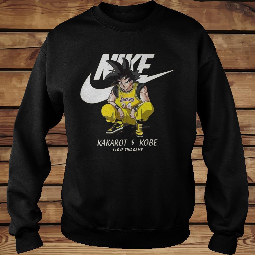 Nike Kakarot Kobe I Love This Game Shirt Sweatshirt Unisex.jpg