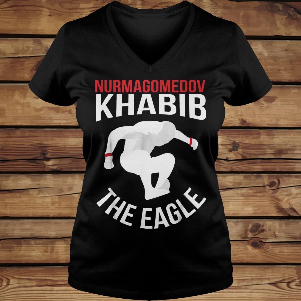 Nurmagomedov Khabib The Eagle shirt Ladies V-Neck