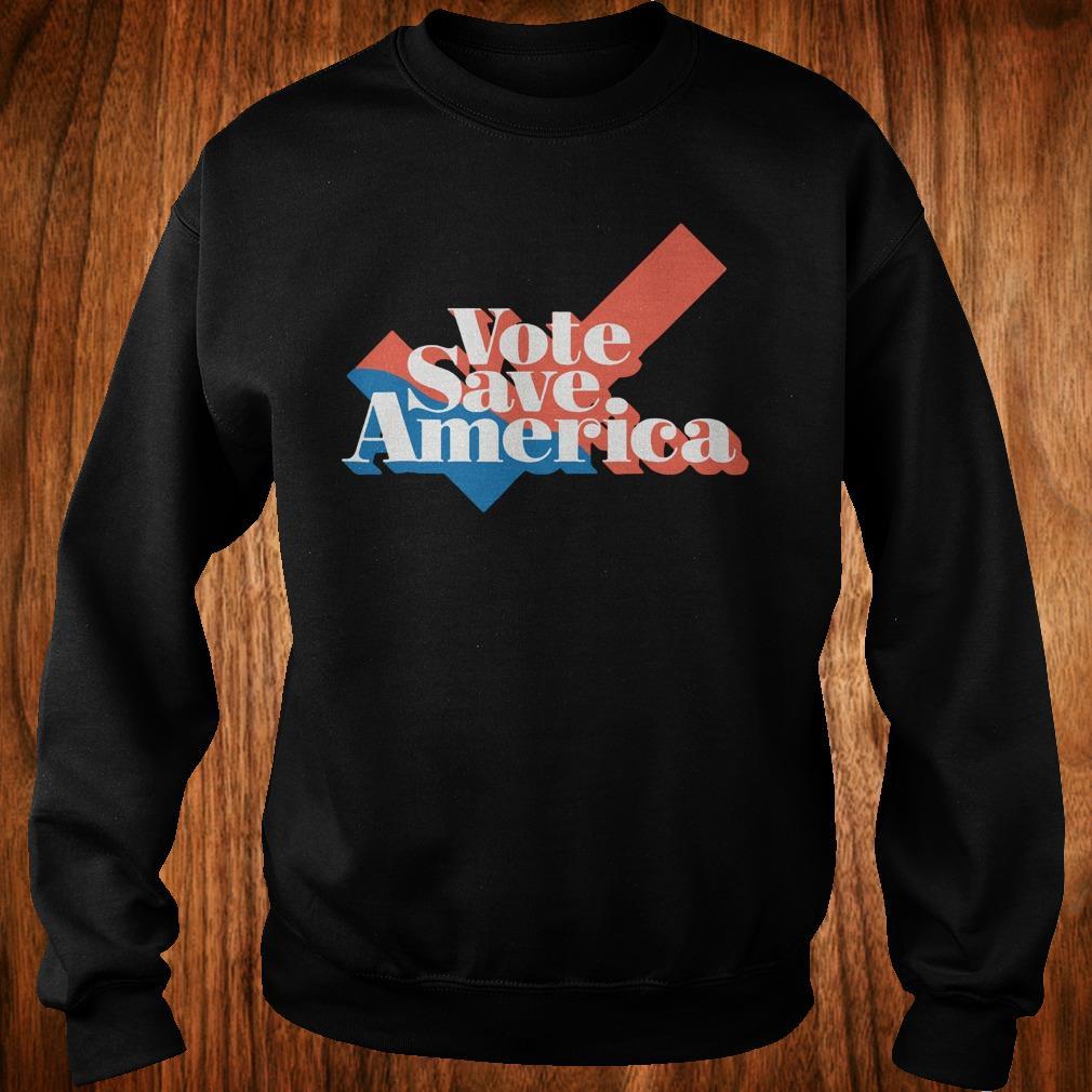 Official Vote save america shirt Sweatshirt Unisex