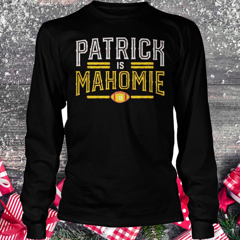 Patrick is Mahomie shirt Longsleeve Tee Unisex