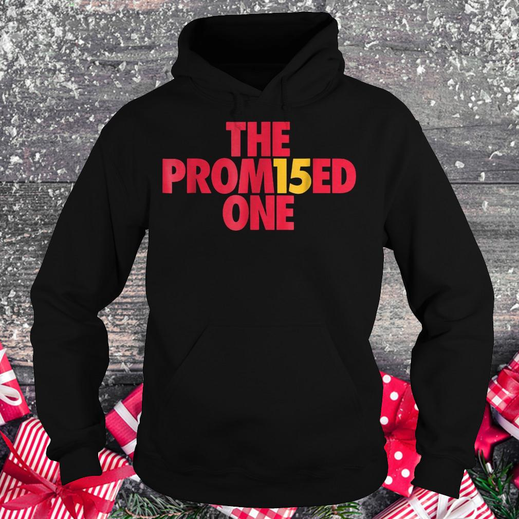 Patrick the promised one Mahomes Kansas city KC football shirt Hoodie