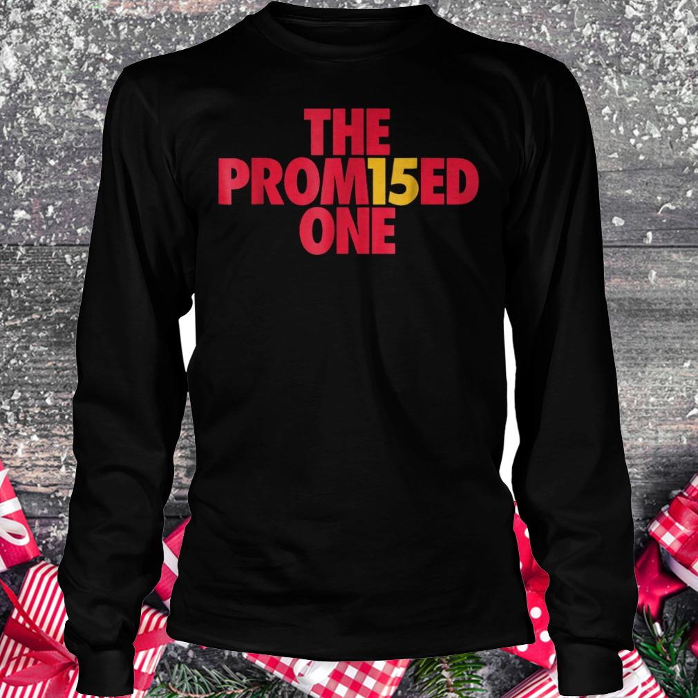 Patrick the promised one Mahomes Kansas city KC football shirt Longsleeve Tee Unisex