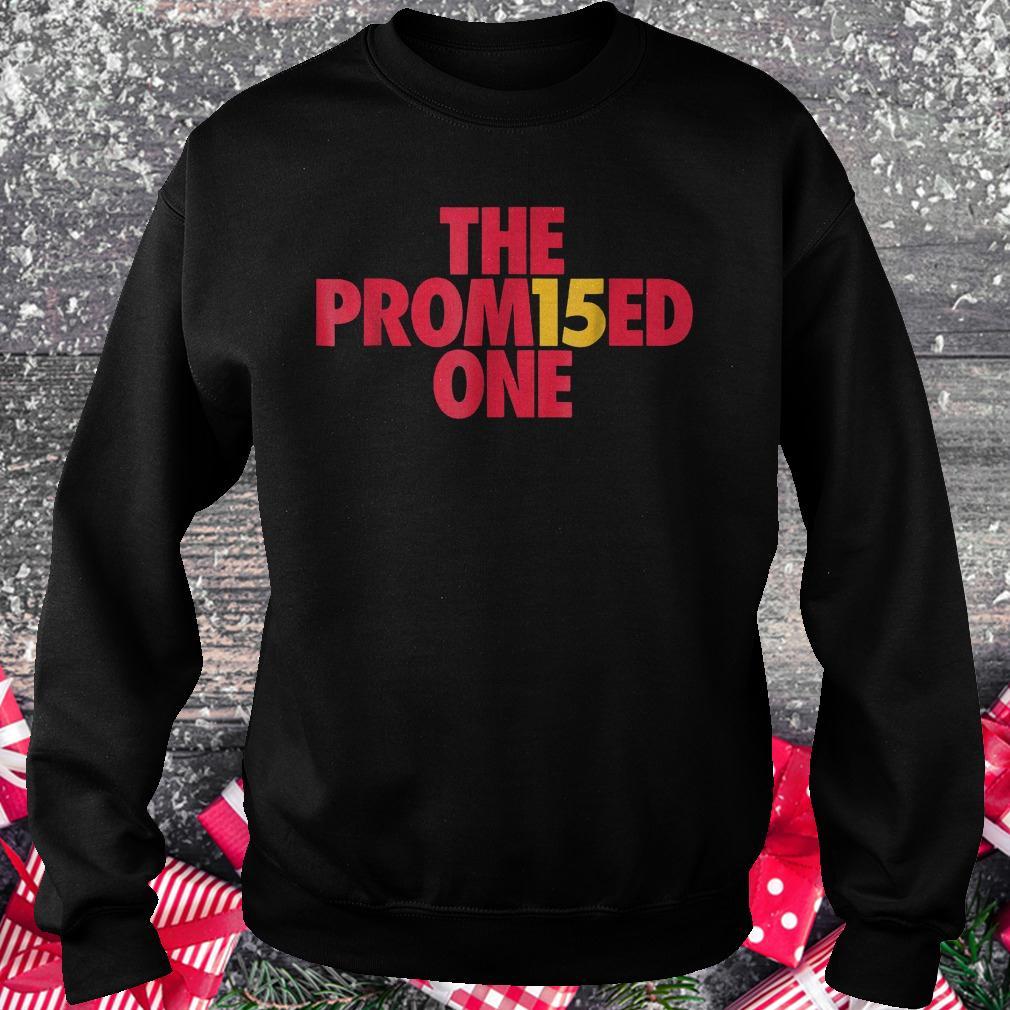 Patrick the promised one Mahomes Kansas city KC football shirt Sweatshirt Unisex