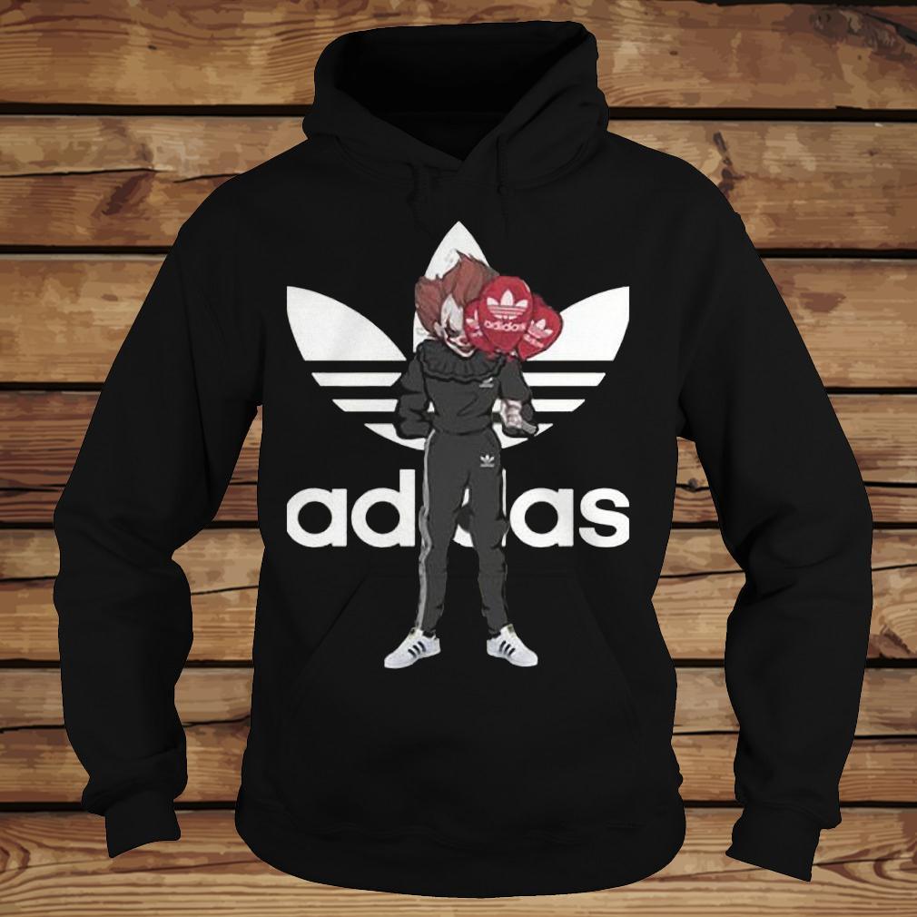 Pennywise Adidas shirt Hoodie