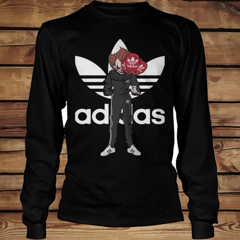 Pennywise Adidas shirt Longsleeve Tee Unisex