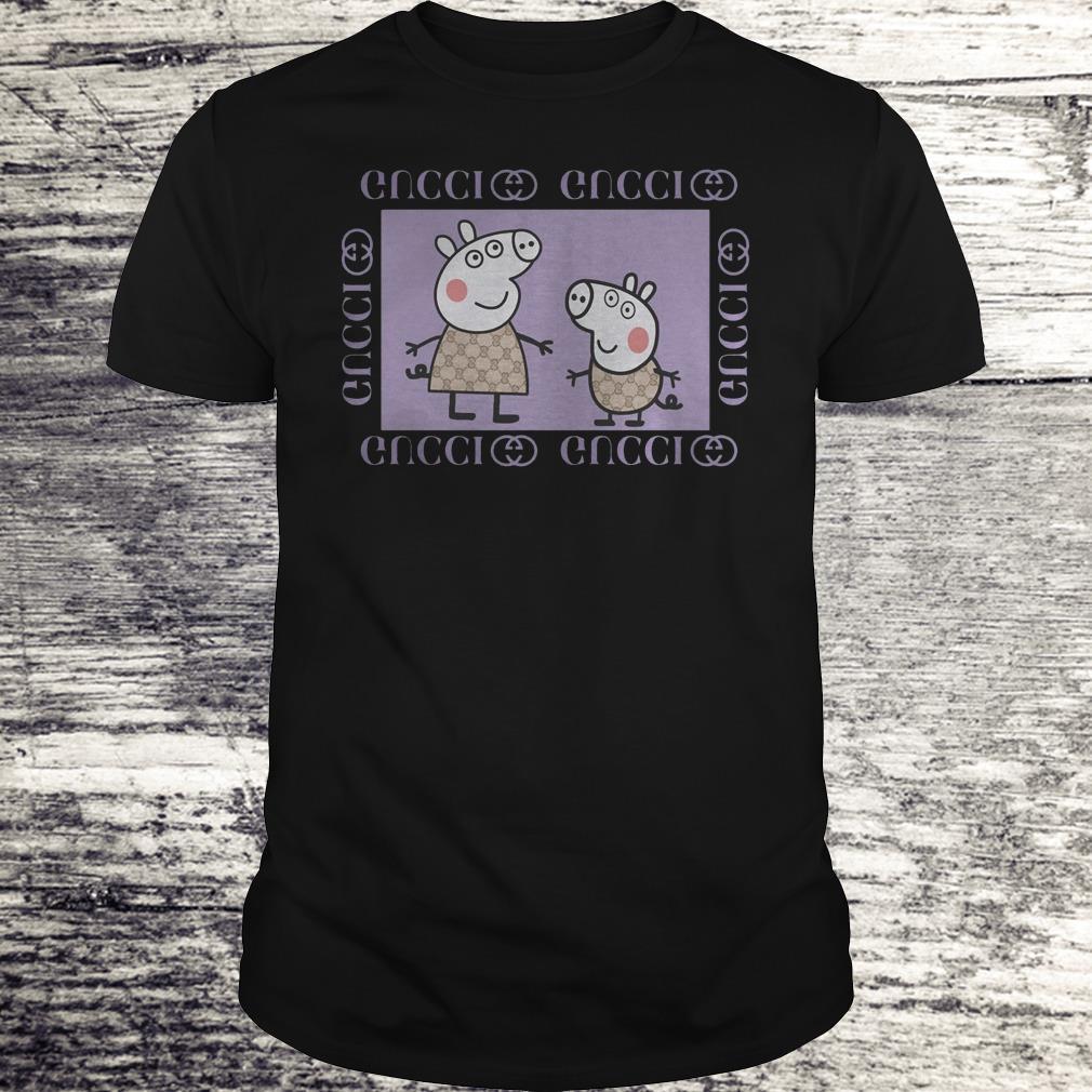 Peppa Pig Gucci Shirt Classic Guys / Unisex Tee
