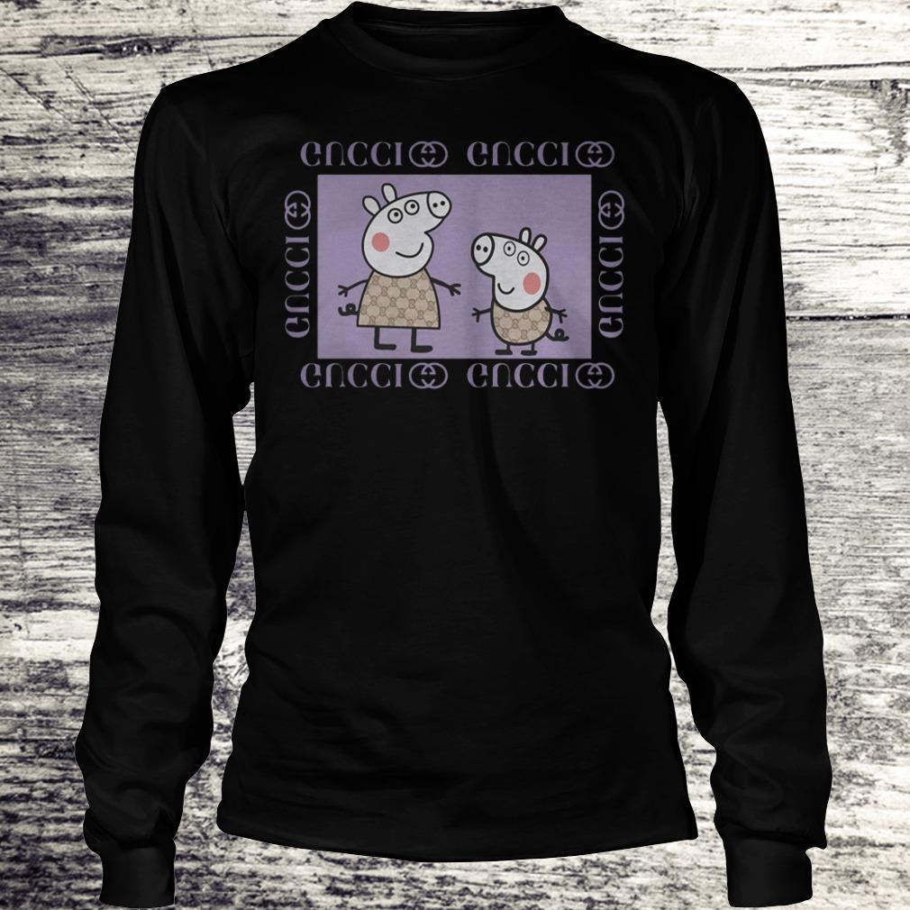 Peppa Pig Gucci Shirt Longsleeve Tee Unisex