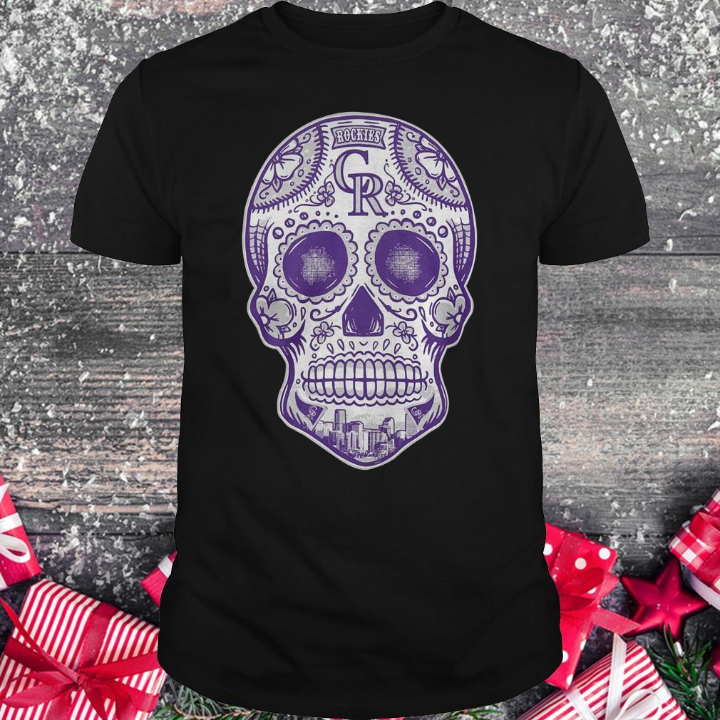 new style a2fc2 efdfd Skull Colorado Rockies shirt, hoodie, longsleeve, sweatshirt ...