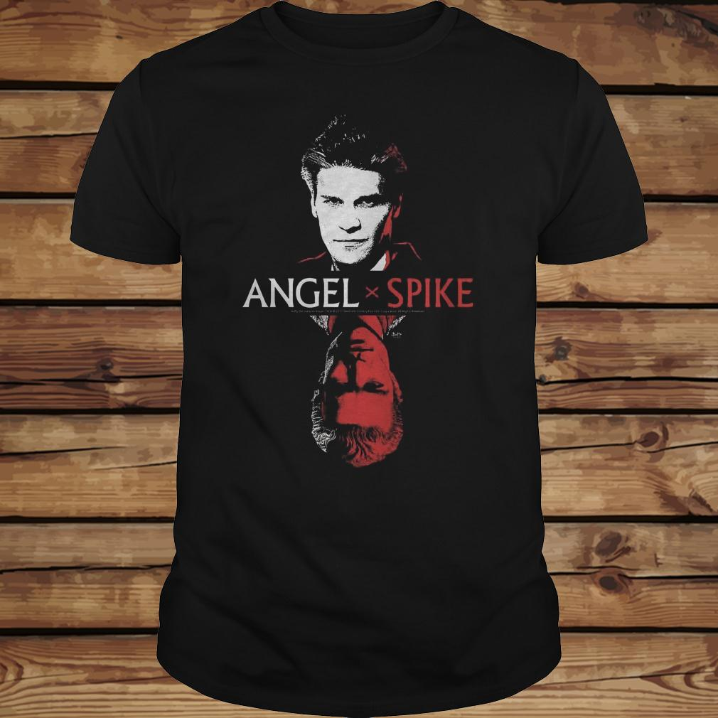 Spike Buffy The Vampire Slayer And Angel shirt Classic Guys / Unisex Tee