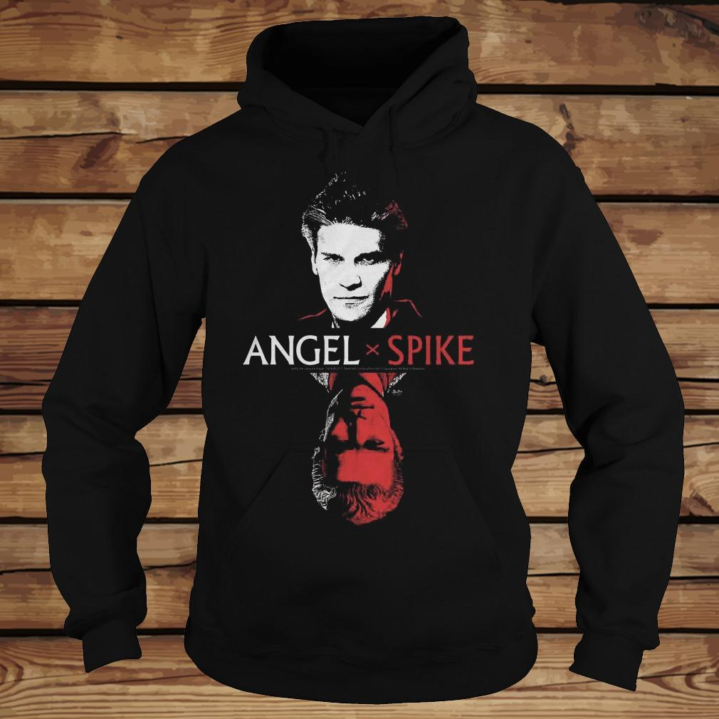 Spike Buffy The Vampire Slayer And Angel shirt Hoodie