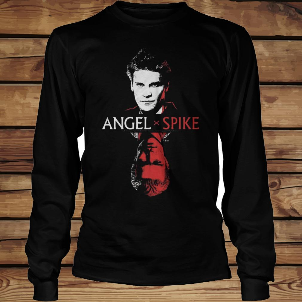 Spike Buffy The Vampire Slayer And Angel shirt Longsleeve Tee Unisex