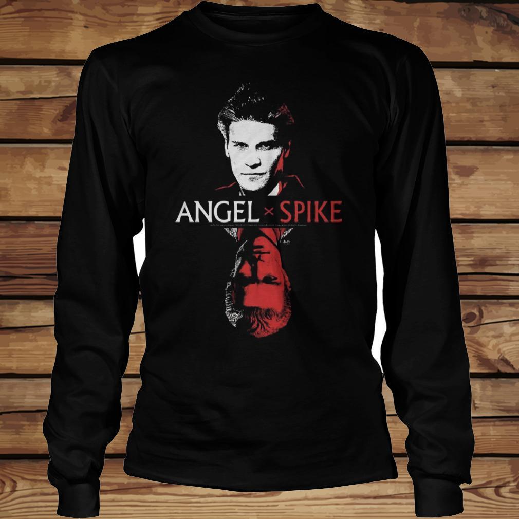 Spike Buffy The Vampire Slayer And Angel shirt Longsleeve Tee Unisex