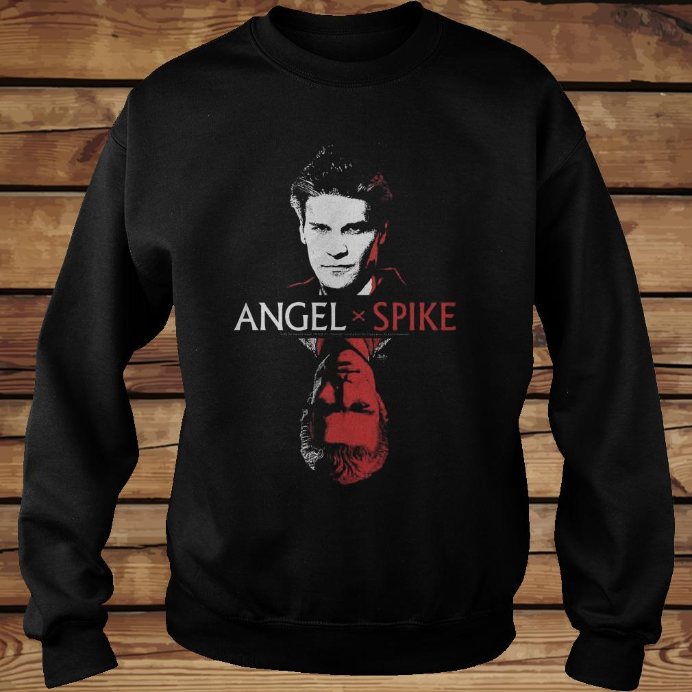 Spike Buffy The Vampire Slayer And Angel shirt