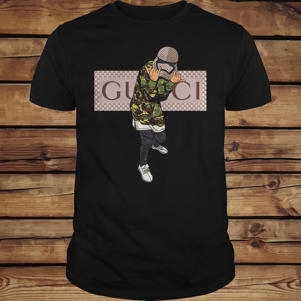 Star Wars Stormtrooper Gucci Mashup shirt Classic Guys / Unisex Tee