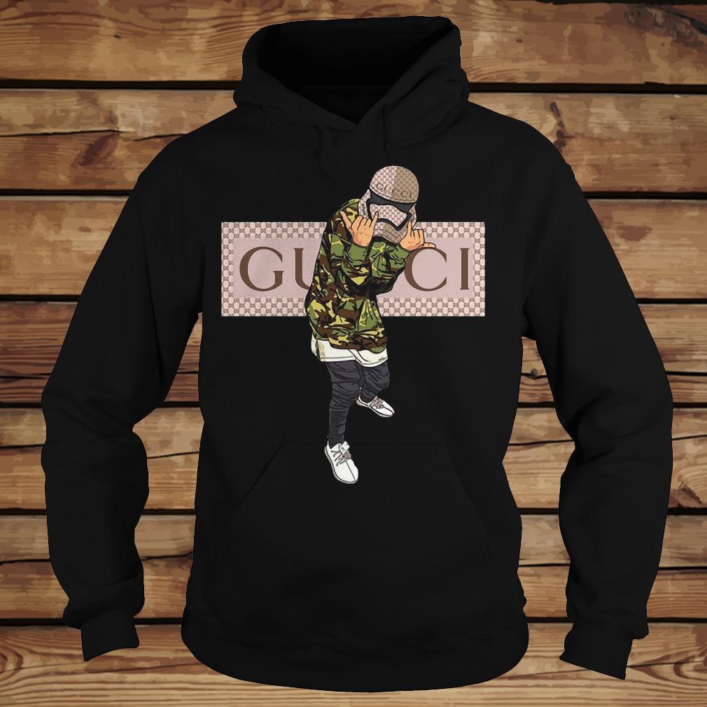 Star Wars Stormtrooper Gucci Mashup shirt Hoodie