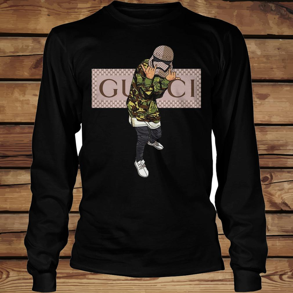 Star Wars Stormtrooper Gucci Mashup shirt Longsleeve Tee Unisex