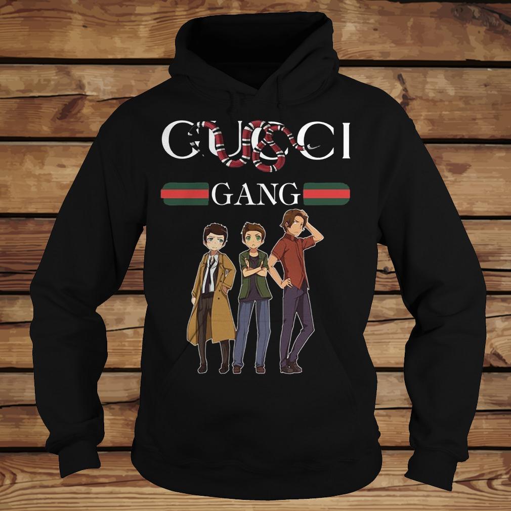 Supernatural Gucci Gang Stay Stylish Mashup shirt Hoodie