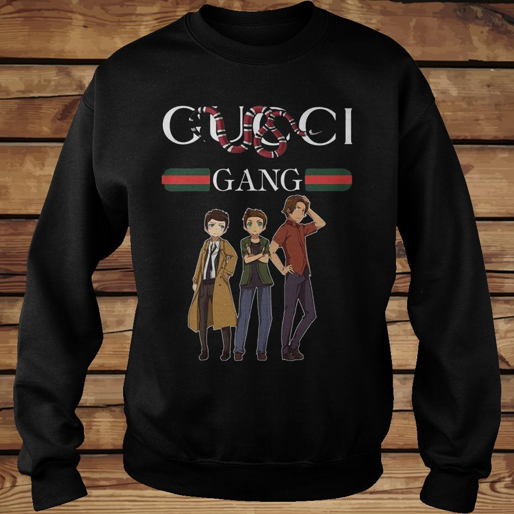 Supernatural Gucci Gang Stay Stylish Mashup Shirt Sweatshirt Unisex.jpg