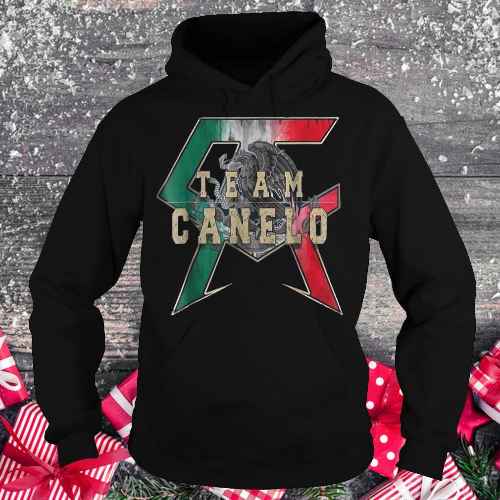 Team Canelo Eagle shirt Hoodie
