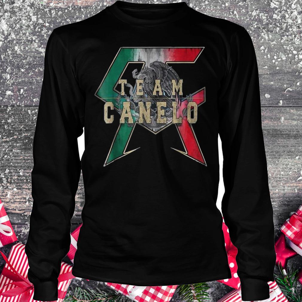 Team Canelo Eagle shirt Longsleeve Tee Unisex