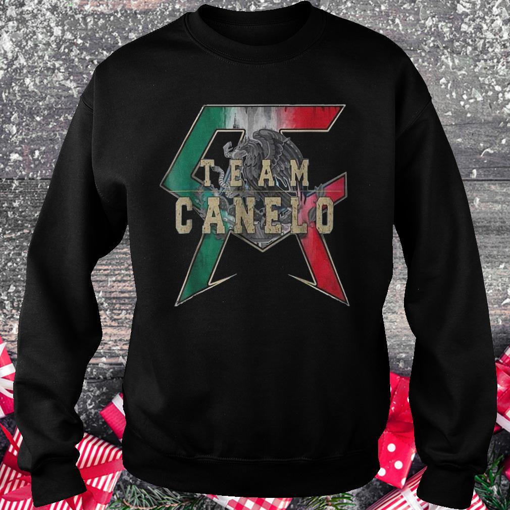 Team Canelo Eagle shirt Sweatshirt Unisex
